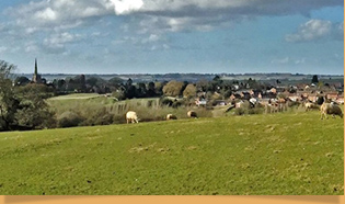 View from Home Farm - ©Pete Lawrence